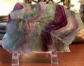 Green Purple Fluorite cry...