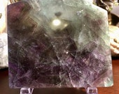 Gorgeous Fluorite Slab charging plate E180898
