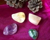 Enhancing Creativity pocket crystal stone set