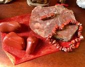 Root Chakra crystals red ...