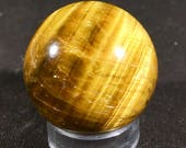 Stunning tigers eye spher...