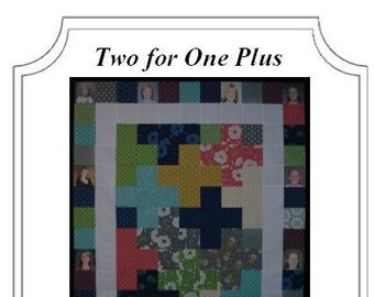 Digital Photo Quilt Pattern - Two for One Plus