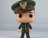 Custom Funko Pop! of Captain America: The First Avenger's Sgt. Bucky Barnes