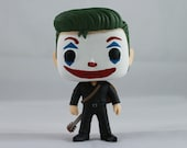 Custom Funko Pop! of The Joker in Black