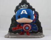 Custom Funko Pop! of Marvel's Captain America