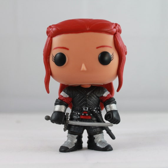 Items Similar To Custom Funko Pop Of Medieval Black Widow
