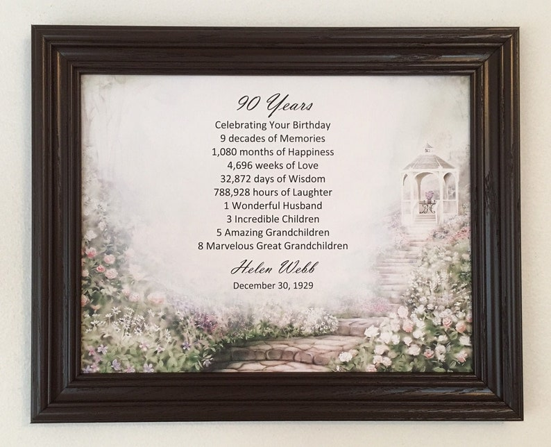 90th Birthday Gift Born In 1929 Ideas Gifts