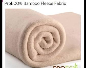 4ab93255060 Bamboo Fleece 70 percent bamboo viscose 30 percent organic cotton 0.5m by  1.5m