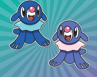 Popplio Stickers