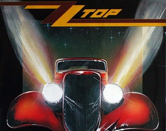 ZZ Top Eliminator Vinyl LP