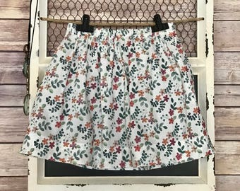 Girl's Gathered Skirt