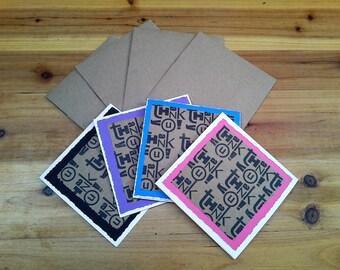 Thank You Cards, Wedding Thank You Cards, Greeting Cards,Thank You Notes, Note Cards, Homemade Cards, Custom Envelopes