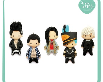 Kpop Polymer Clay Big Bang Alive Cell Phone Charm – Kpop Collection