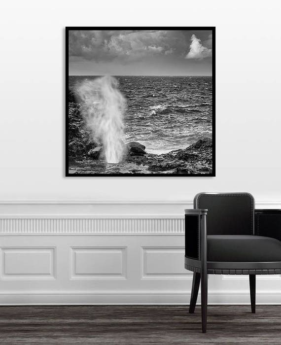 Oversized Framed Wall Art Large Wall Art Black and White | Etsy