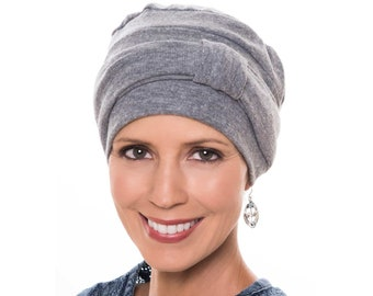 100% Cotton Madison Exercise Cap | Chemo Turbans | Hats for Cancer Patients | Head Covering for Women | Chemo Hats | Cancer Hats