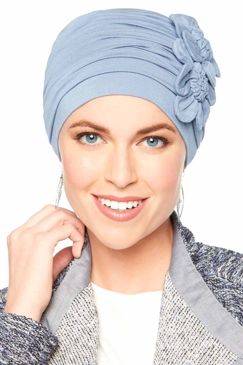5977281cf8b12 Flapper Turban Vintage Flapper Hat in Soft Bamboo by Cardani