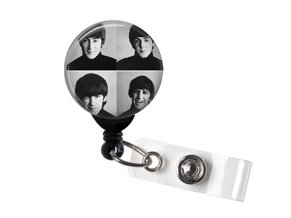 Le Badge d'ID rétractable Beatles, bobine insigne,