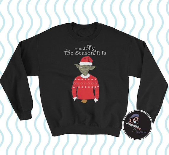 a31645001a56 Yoda Star Wars Ugly Christmas Sweater Funny Holiday Sweater