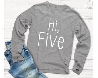 Hi Five Birthday Shirt