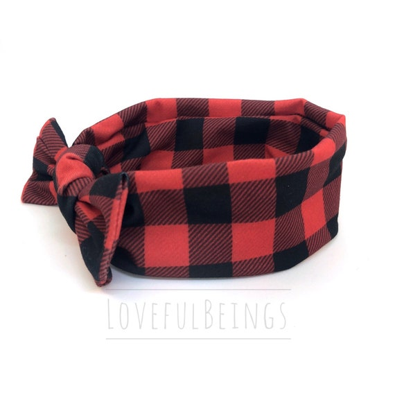 SALE Buffalo Plaid Headband Buffalo Plaid Baby Girl  9bea1c94618