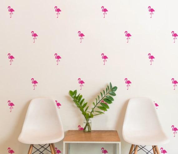 Pattern Pink Flamingo Set of 20 Wall Sticker Nursery Kids Home  MS225VC