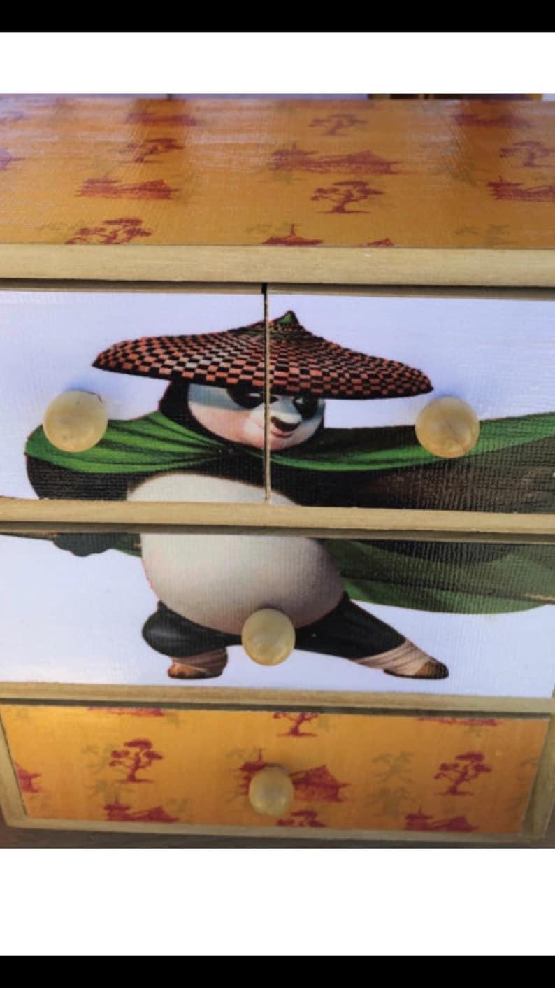 Kung Fu Panda jewelry chests