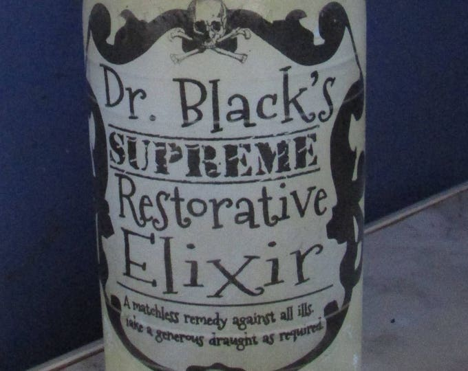 Dr Black's Restorative Elixir Bottle Light