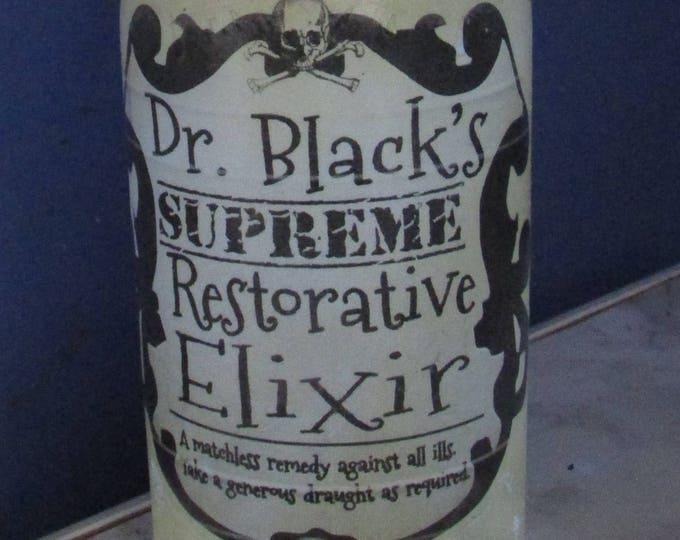 Dr Black's Restorative Elixir Bottle Light