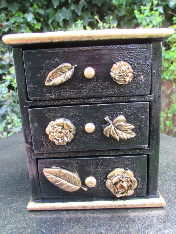 Small Upcycled Chest Of Drawers