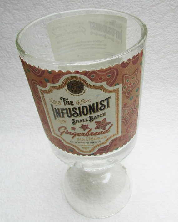 Heavy Glass Gingerbread Gin Goblet