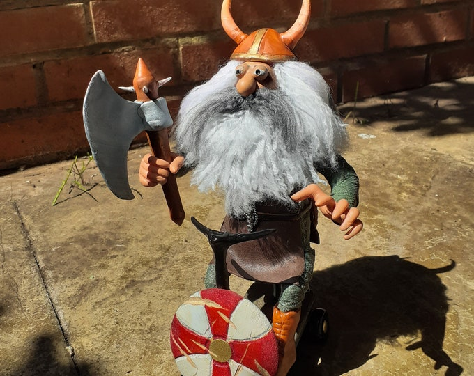 Viking on Mobility Scooter