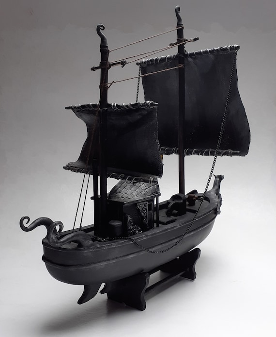 Haunted Gothic Witch Boat