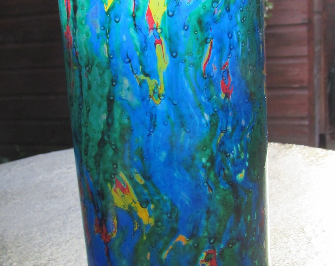 Colourwash Stained Glass Marbled Tumbler