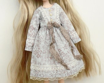 Sweet lolita dress for pullip blythe obitsu azone and similar dolls, pullip outfit blythe clothes set