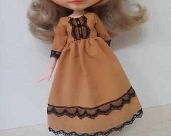 Great fall dress for pullip blythe azone momoko obitsu and similar dolls