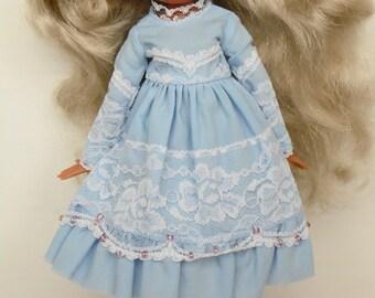 Blue Sky dress for pullip blythe azone momoko obitsu and similar dolls
