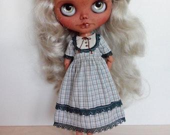 Lovely mori country dress for pullip blythe azone momoko obitsu and similar dolls