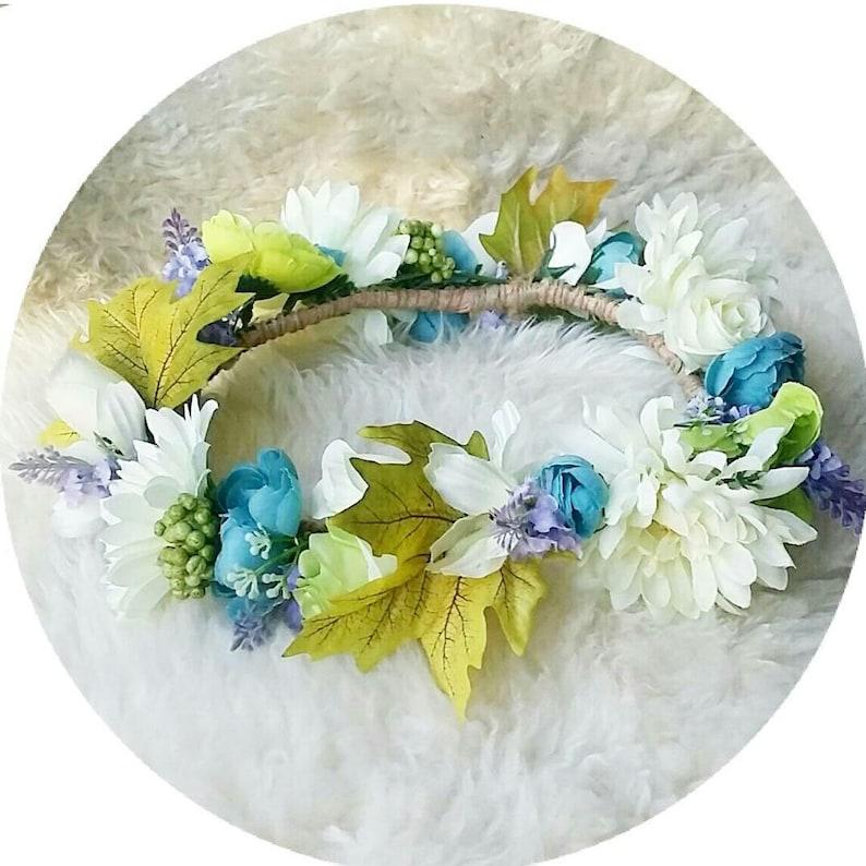 SPRING TIME Flower Crown