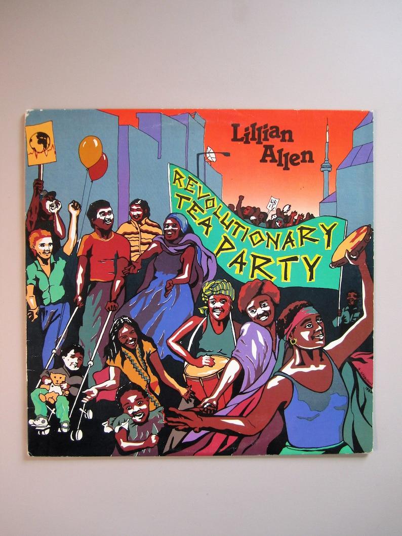 Lillian Allen - Revolutionary Tea Party - Dub Poetry - Vintage Vinyl Record  - 1986