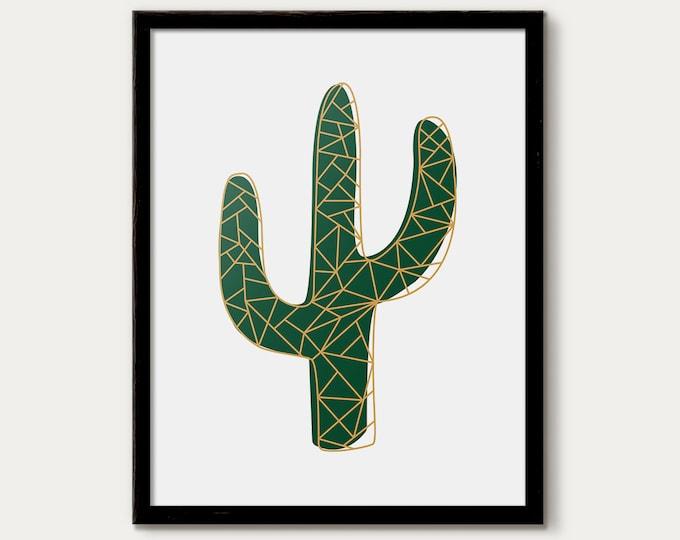cactus printable, posters cactus set, botanical prints, cactus decor, cactus printable set, affiche cactus, cactus print, cactus print