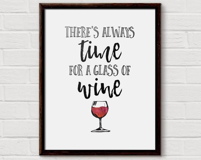 Wine Quote, Wine Gift, Wine Quotes, Wine Poster, Teacher Wine Gift, Wine Love Gift, Wine Drinker, Funny Wine Print, Wine Bar Art, Wine Paint