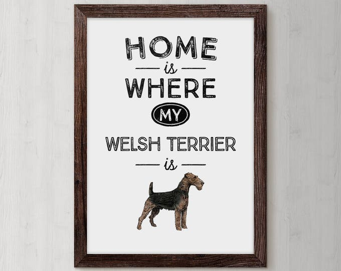 Welsh Terrier, Welsh Terrier gift, Terrier, Dog Gift, Dog Lover, Dog Lover Gift, Personalized Dog, Dog, Pet Gift, Dog Mom, Dog Gifts Dog Art