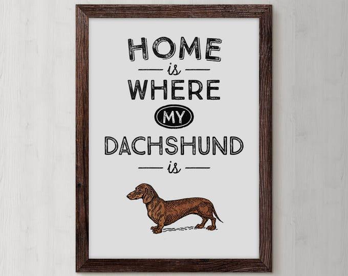 Dachshund, Dachshund Gift, Dachshund Dog, Dachshund Print, Dachshunds, Dachshund Lover, pet dogs, pet gift, pet lover gift , pet lovers