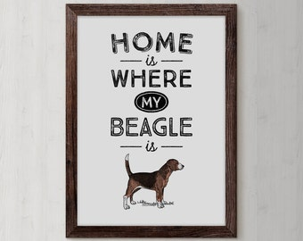 Beagle, Beagle Art Print, Beagle Gifts, Beagle Art, Beagle Print, Poster Beagle , Printable Poster, dog poster, dog wall art, Beagle Poster