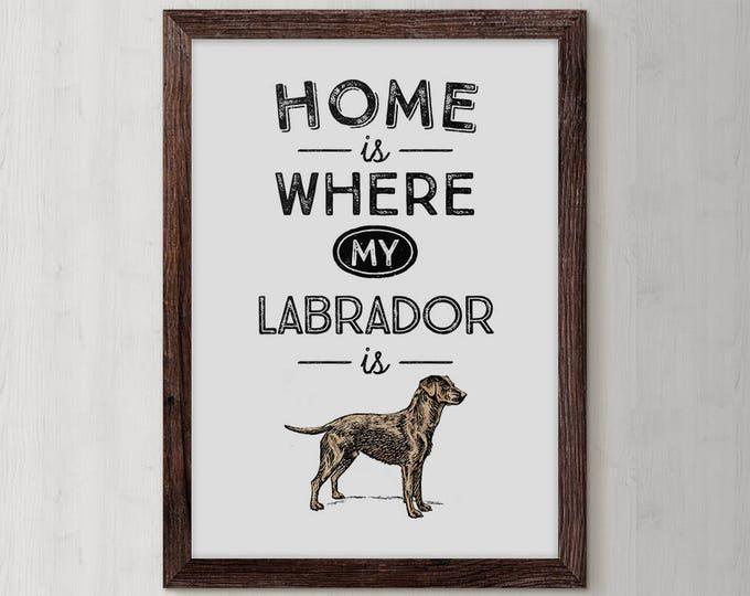 Labrador Retriever, Yellow Lab, Labrador, Yellow Labrador, Dog Lover Gift, Dog Art, Pet, Retriever, Labrador gift, Puppy, Labrador print