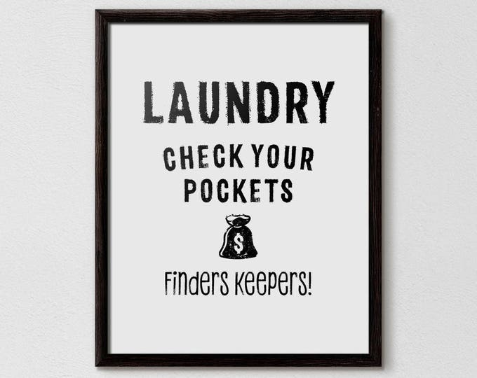 Laundry Sign, Laundry Room Sign, Funny Laundry Decor, Laundry Wall Art, Laundry Decoration, Laundry Print, Homemaker, laundry room design