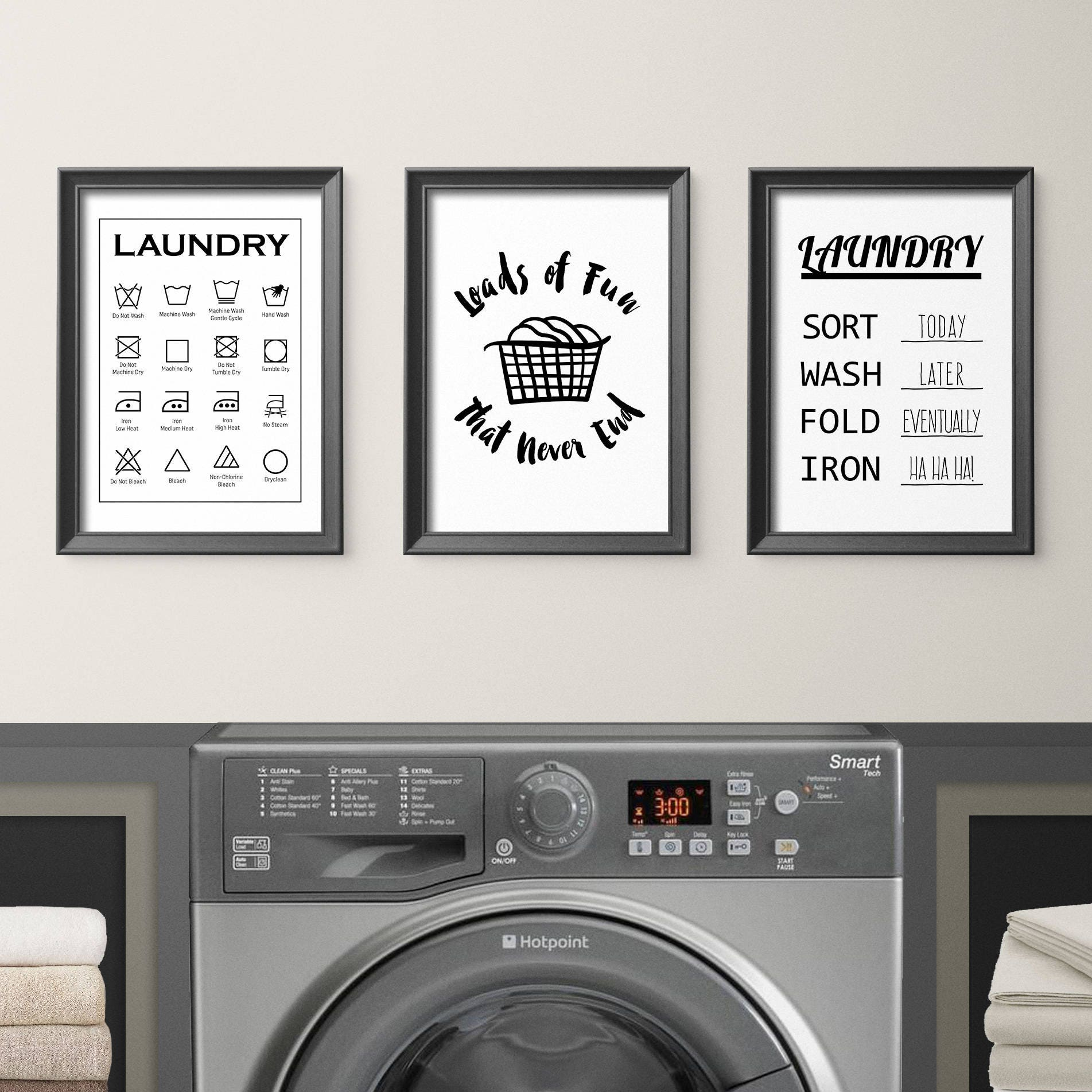 graphic regarding Printable Laundry Signs known as Laundry Area Decor, Amusing Laundry Decor, Laundry Print, Reduce