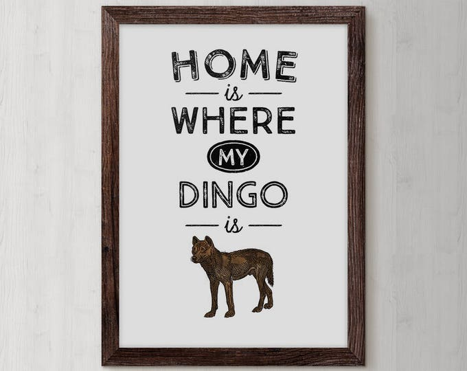 Dingo, Dog Mom Gift, Dog Mom, Gifts for Mom, Animal Lover Gift, Mothers Day Gift, dog accessories, dog art, gifts under, custom dog, Unique