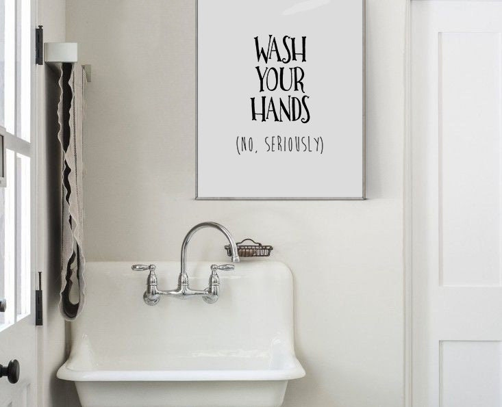 toilet sign toilet wall decor funny bathroom decor toilet signs rh alchera design