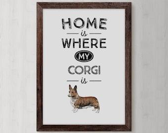 Corgi Gifts, Corgi, Welsh Corgi, Corgi Butt, Pembroke Welsh Corgi, Corgi Lover Gift, corgi art, Gift for corgi love, corgi things, Cute Dog